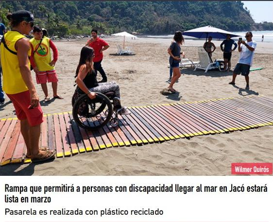 handicapped access ramps in Costa Rica